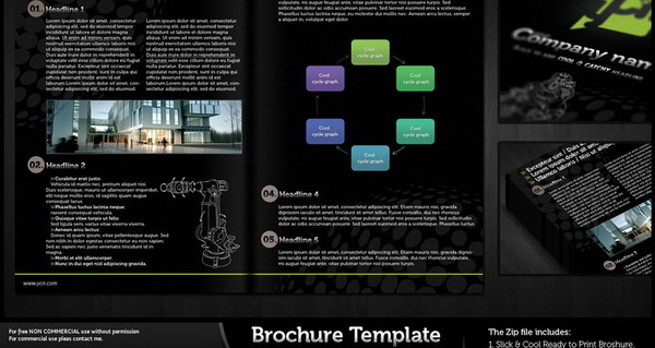 brochure design, brochure template psd file