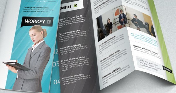 brochure layout, corporate brochure template download