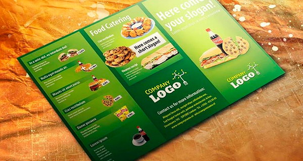 food flyer template