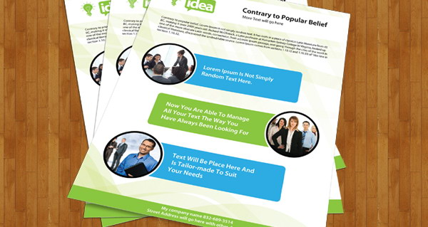brochure design, free corporate brochure psd file