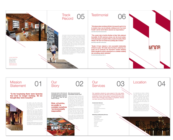 lumina property brochure