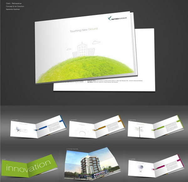 real estate brochure retroavenue