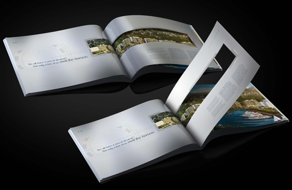 real estate brochure waterfront