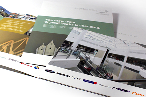 shopping centre refurbishment brochure