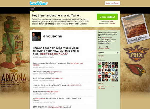 layouts for twitter, twitter layouts anousone