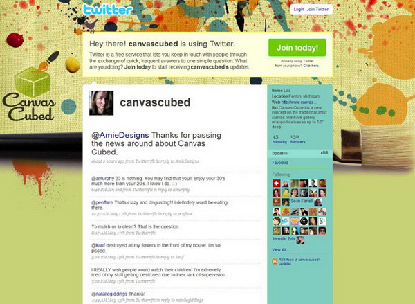 layouts for twitter, twitter layouts canvas cubed
