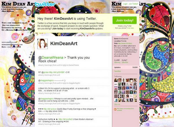 backgrounds twitter, twitter layouts kiam dean art