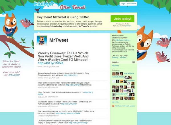 custom twitter background, twitter layouts mrtweet