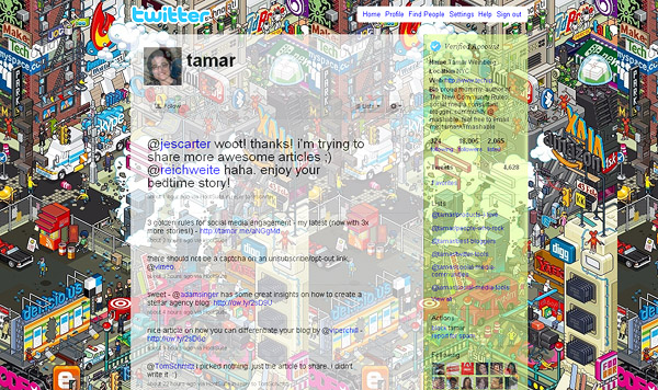 layouts for twitter, twitter layouts tamar