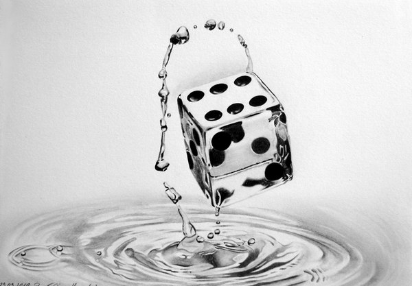 dice-water-drawing