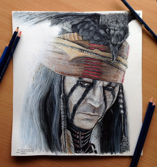 johnny-depp-color-pencil-drawing