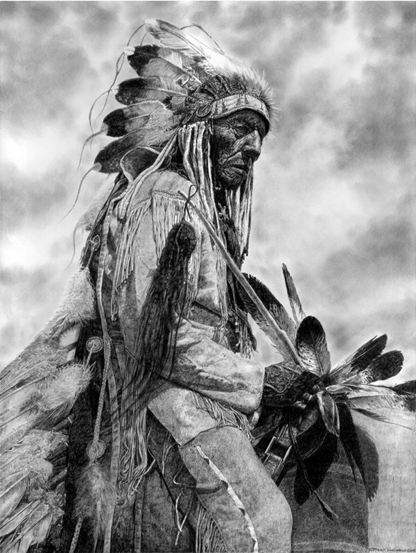 native-american-chief-pencil-drawing