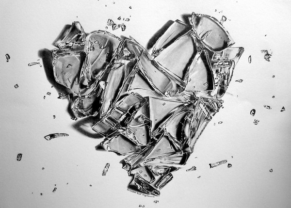 pencil-drawing-broken-heart