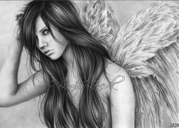pencil-drawings-of-angel-tears