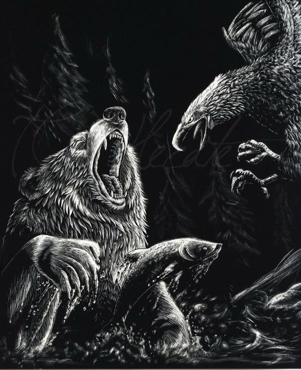 bear drawing 7