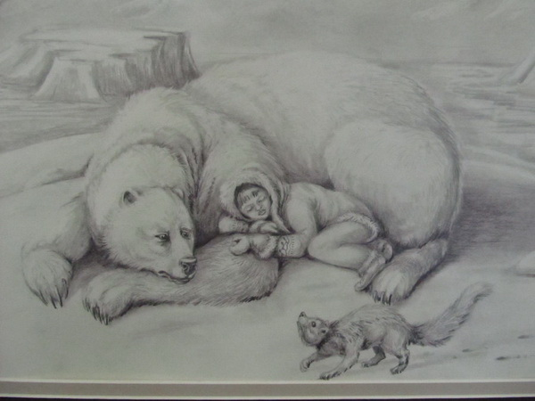 bear drawing 9