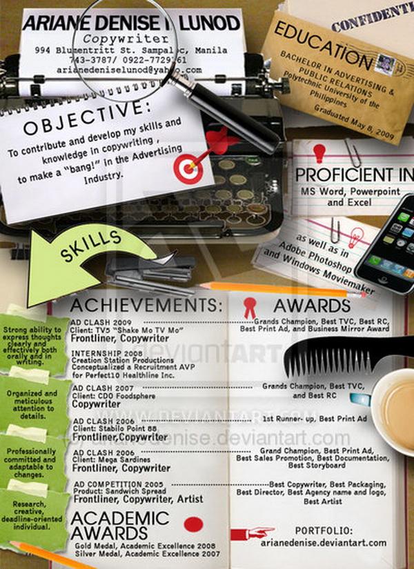 creative resume 15