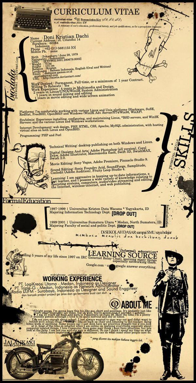 creative resume 16