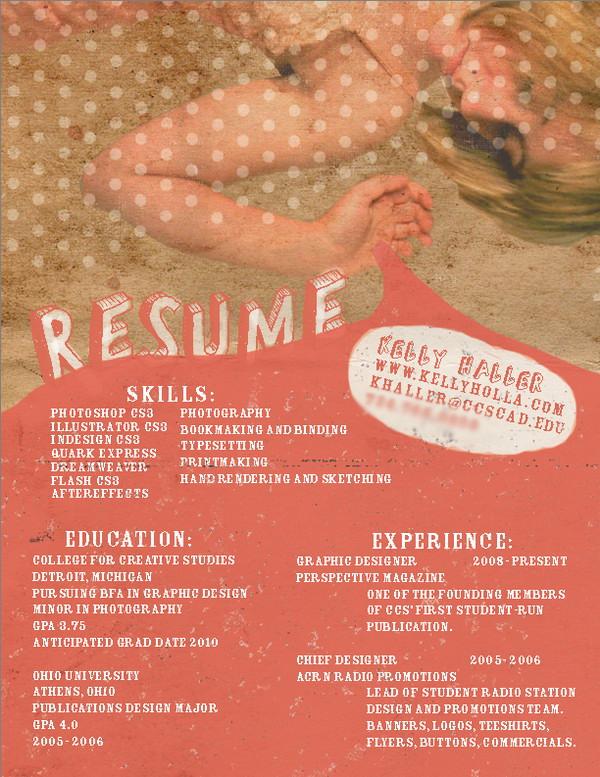 creative resume 23