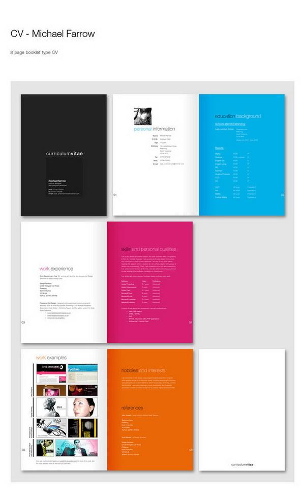 creative resume 29