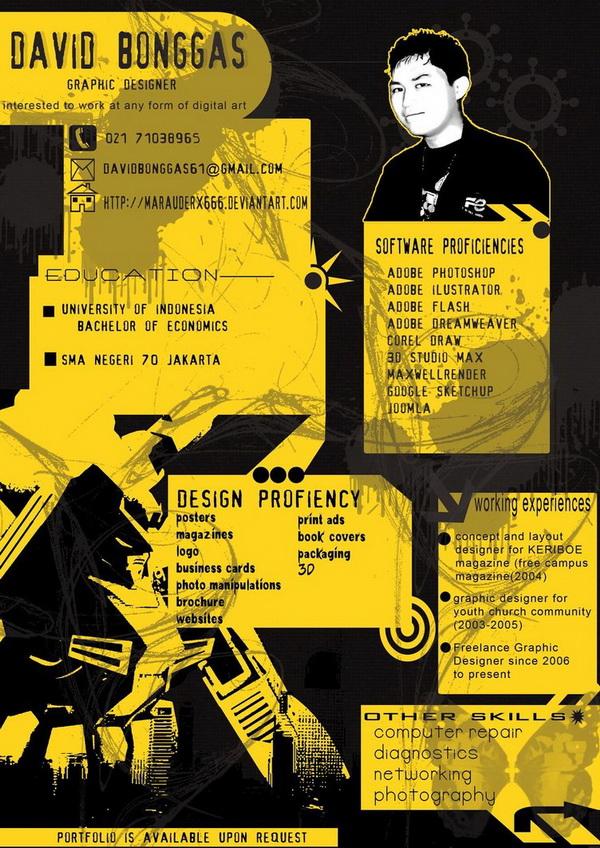 creative resume 30