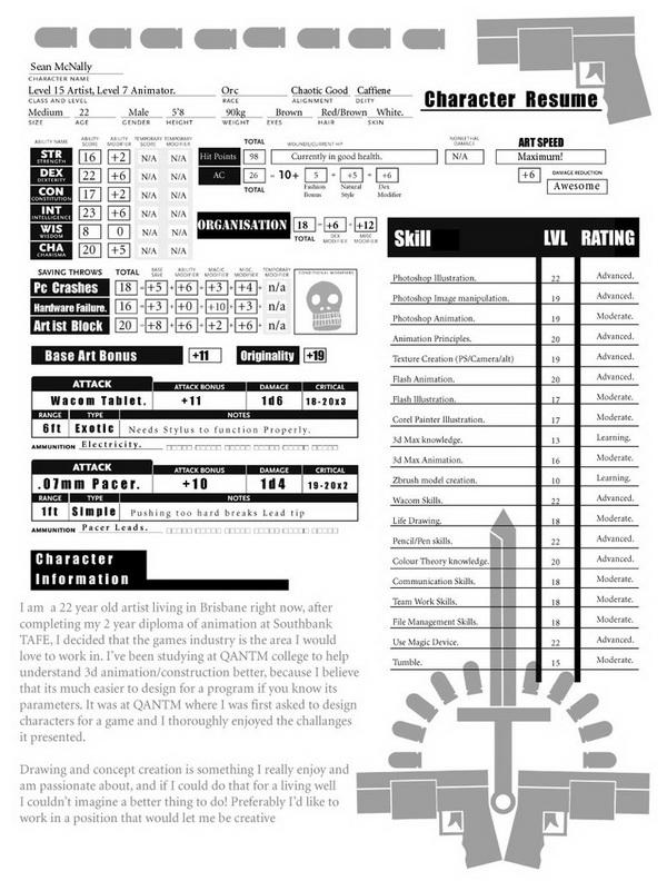 creative resume 31