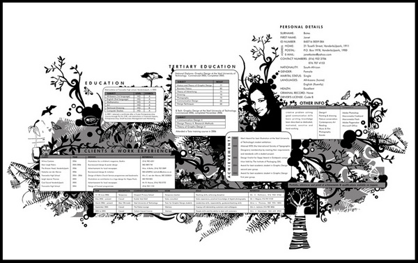 creative resume 32