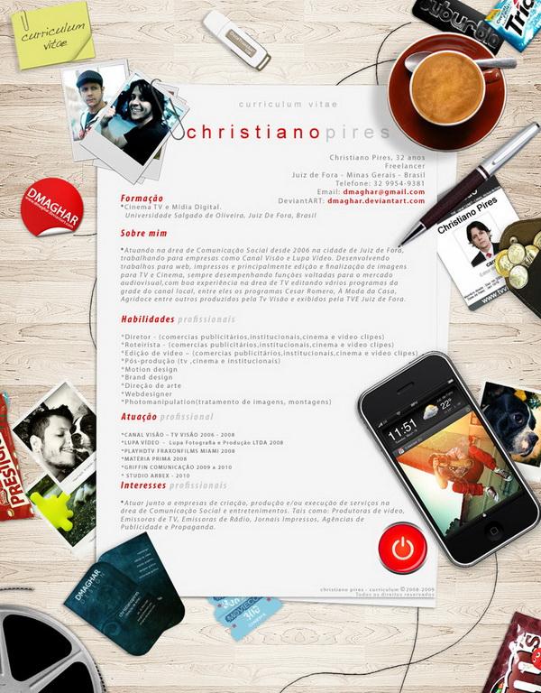 creative resume 35