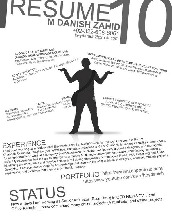 creative resume 36