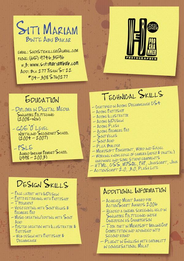 creative resume 38