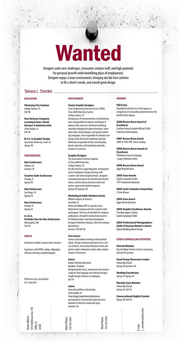 creative resume 47