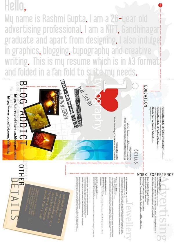 creative resume 48