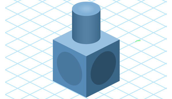 isometric drawing tool from adobe illustrator