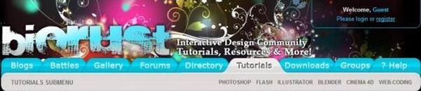 photoshop tutorials biorust 15
