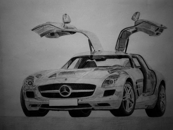 car drawing 11