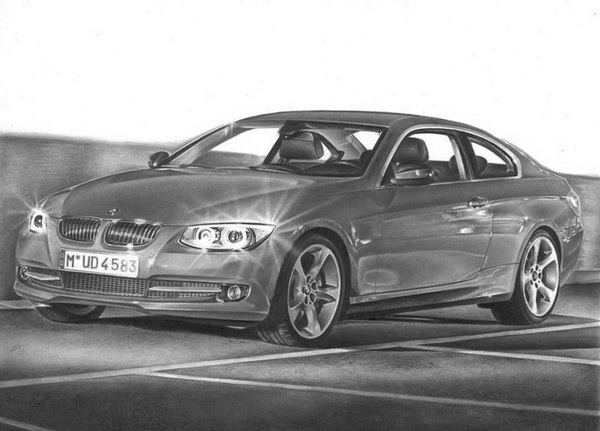 car drawing 12