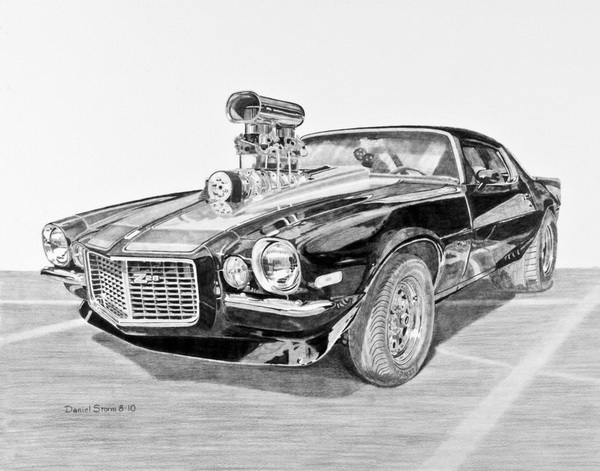 10+ Cool Car Drawings For Inspiration 2017