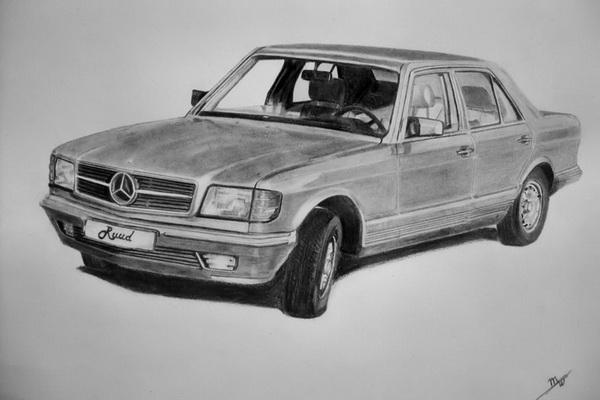 car drawing 7