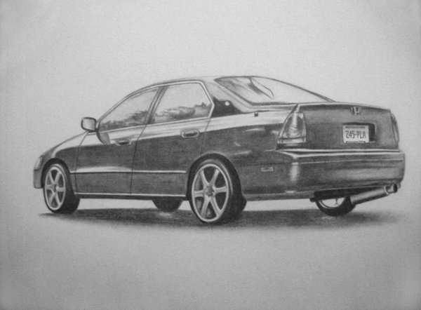 car drawing 8