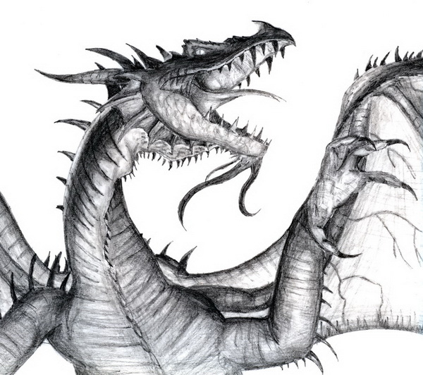 dragon drawing 2