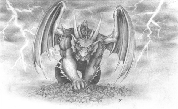 dragon drawing 5