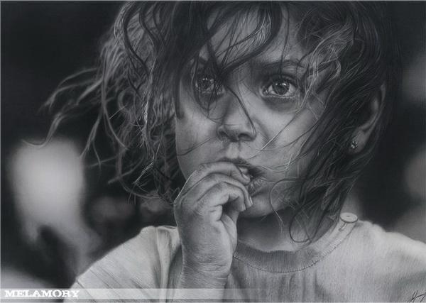 girl drawing 1