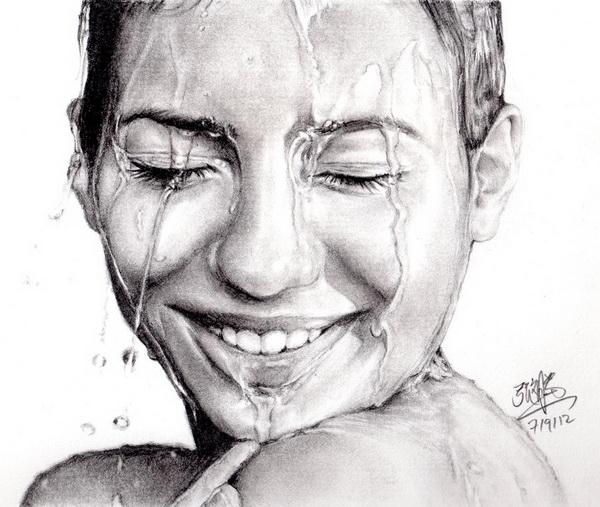 girl drawing 5