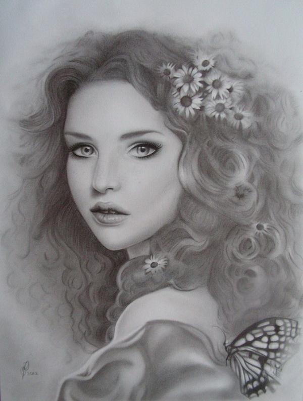 girl drawing 6