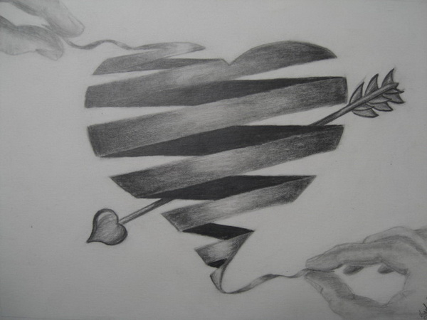 heart drawing 2