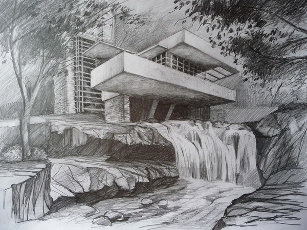 house drawing 10