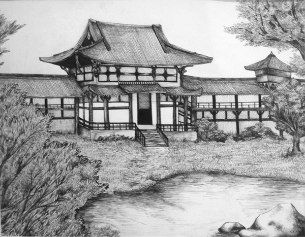 house drawing 3