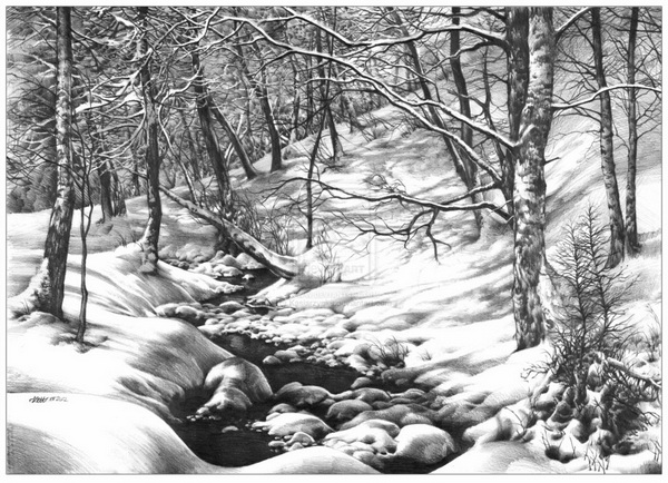 landscape drawing 10