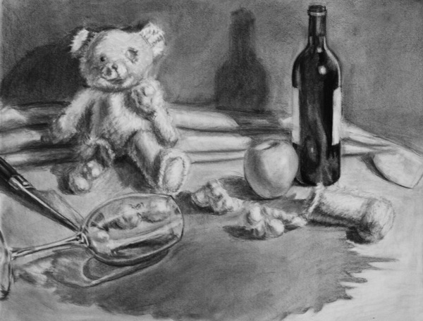 teddy bear drawing 12