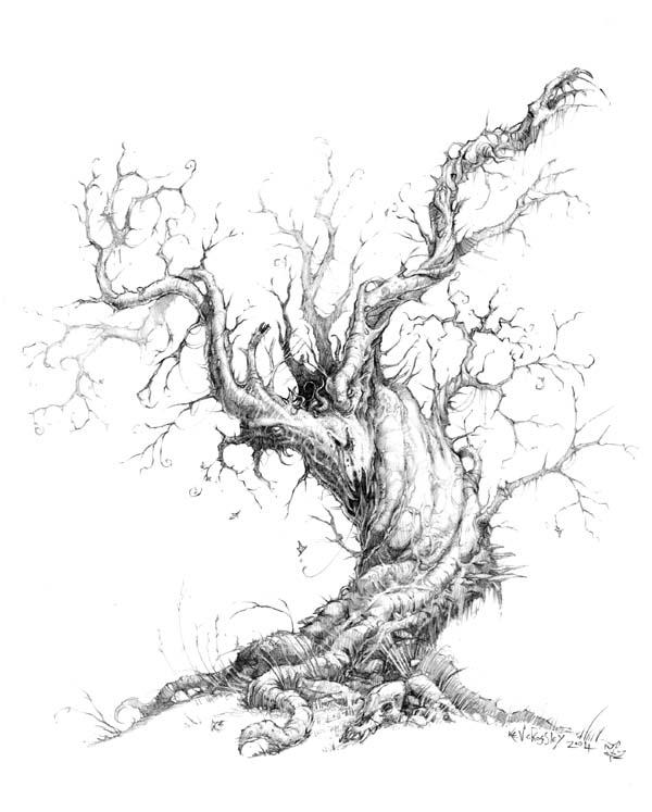 tree drawing 2